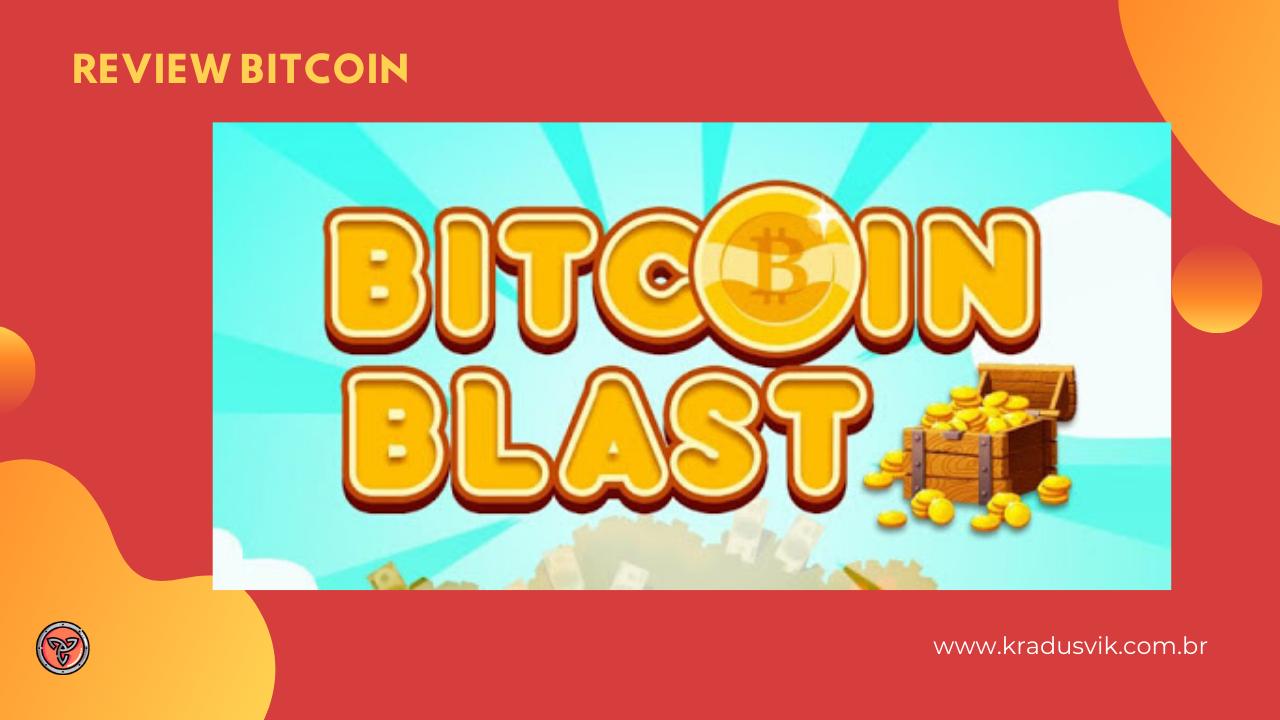 Ganhe Bitcoin de graça pelo celular |  Bitcoin Blast app de celular para ganhar muitos satoshi free!